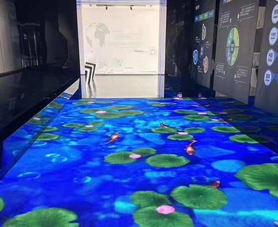 Pantalla-LED-Suelo
